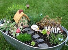 Our Favorite Fairy Garden accessories | Flea Market Gardening