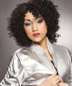 curly hair styles 40 most universal medium length haircuts with bangs 7858