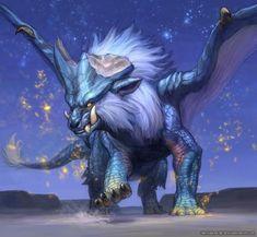 Shattered Horns and Blazing Blue: Lunastra Monster Hunter Memes, Monster Hunter 3rd, Fantasy Monster, Monster Art, Fantasy Dragon, Dragon Art, Fantasy Creatures, Mythical Creatures, Anime Monsters