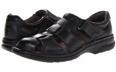 Florsheim Getaway Fisherman Sandal (Black) Men's Hook and Loop Shoes - Florsheim, Getaway Fisherman Sandal, 13176-001, Footwear Closed Hook and Loop, Hook and Loop, Closed Footwear, Footwear, Shoes, Gift, - Street Fashion And Style Ideas