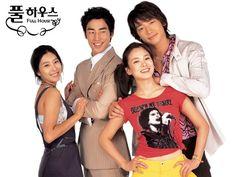 Full House (Korean) Bi as Lee Young Jae  Song Hye Kyo as Han Ji Eun  Han Eun Jung as Kang Hye Won  Kim Sung Soo as Yoo Min Hyuk. Korean Drama.