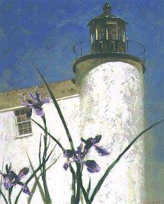 Jamie Wyeth, Iris at Sea