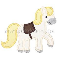 Horse Applique Design