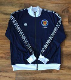 2a3f2af38f42 Umbro Scotland Kenny Dalglish retro style football tracksuit top not shirt  XL