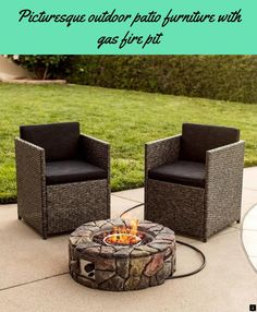 10 top 10 best gas fire pit tables in 2018 review images gas fire rh pinterest com