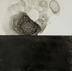 Nancy Crawford.  The Creative Commitment – A Calligraphy Inspired Encaustic Series.