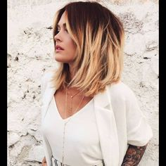 Short dark red to blonde ombre bob hairstyle - Frisuren Blonde Ombre Bob, Ombre Hair Color, Short Ombre, Pastel Blonde, Warm Blonde, Ombre Bob Hair, Red Ombre, Pastel Hair, Dark Roots Blonde Hair Short