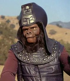 Chief of Security Urko (Mark Lenard) - Planet of the Apes: The TV Series Fantasy Movies, Sci Fi Movies, Scary Movies, Sci Fi Fantasy, Great Movies, Sci Fi Horror, Horror Films, Horror Art, Cool Robots