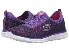Skechers: Glider - Deep Space (purple/pink) Deep Space, Gliders, Discount Shoes, Brand You, Skechers, Purple, Pink, Closet, Accessories