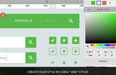 Medialoot - Flat UI Kit for Sketch