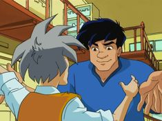 """Uncle was always there to keep Jackie on his toes with his sassy attitude. 
