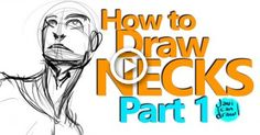 Yes Necks! I love necks! wait, I hate them! How To Draw Necks, Eye Structure, Christina Lorre, Neck Drawing, Eyes Looking Down, Closed Eyes, Realistic Drawings, Figure Drawing, Art Tutorials