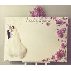 Weddings Memory Board 70x100cm