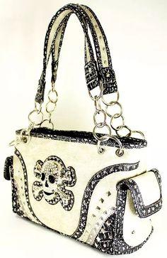 Gun concealment Fashion Handbag