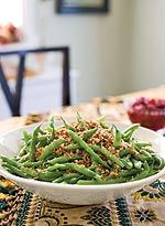 Fresh Green Bean Casserole...I made these for Easter dinner and they were delicious!