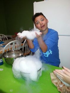 Dry ice science projects