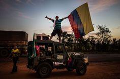 'La expedición Yipao', los colombianos que viajaron en un Willis a #Brasil2014 para apoyar a la selección Colombia.