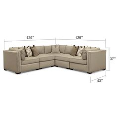 Shop for the most comfortable sectional couches right here at Value City Furniture. You'll find some of the largest and coziest couches at the best prices available. Value City Furniture, Furniture Design, Furniture Making, Living Room Furniture, Florida Home, Sectional Sofa, Couches, Sofas, Living Room Inspiration