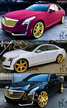Cadillac Sedan Cars You Should Check Out Now Luxury Sports Cars, Top Luxury Cars, Exotic Sports Cars, Lamborghini Gallardo, Pimped Out Cars, Aston Martin, Carros Audi, Donk Cars, Automobile