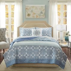 Sybil 8 Piece Coverlet Quilted Set King. Beach House BedroomBeach ...