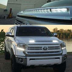 Discover recipes, home ideas, style inspiration and other ideas to try. Toyota Tundra Lifted, Toyota Tundra Crewmax, Tundra Trd Pro, 2014 Toyota Tundra, Tundra Truck, Toyota 4x4, Toyota Trucks, Toyota Hilux, Toyota Tacoma