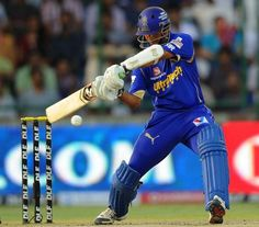 Rajasthan Royals has made a triumphant start to the Indian Premier League by beating Delhi Daredevils by 5 runs in the home ground. Fun Stories, Match 3, Premier League, Cricket, Royals, Have Fun, Finger, Fancy, Baseball Cards