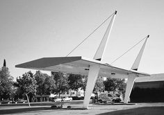 <p>On the occasion that we celebrate road tripping and all things Labor Day here in America, enjoy these images of some classic Modernist gas stations. Yes, some very famous architects including Alber