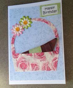 Sausage Dog Origami Birthday Card, Funny Dog Card, Dachshund Birthday Card