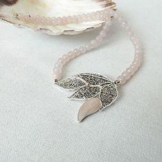 Filigree Jewelry, Silver Filigree, Handcrafted Jewelry, Handmade, Rose Quartz, Necklaces, Pendant Necklace, Gemstones, Instagram Posts