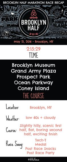 Brooklyn Half Marathon Race Recap | Running | NYRR | Races in NYC | Wild Workout Wednesday | Half Marathons