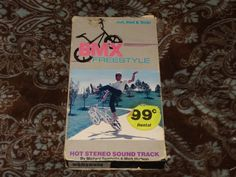BMX Freestyle (VHS, 1986) OOP Simitar! Sambello/Mark Hudson Music! *NOT ON DVD*