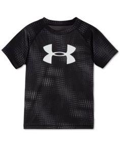 Under Armour Little Boys' Graphic-Print Big Logo T-Shirt    macys.com