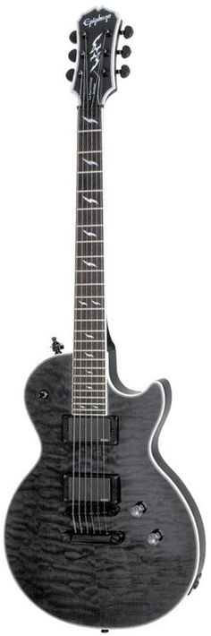 Get yourself the Epiphone Les Paul Custom Ex Midnight Ebony with EMG's from the UK's Largest Guitar Store. Buy today and get this Epiphone with Free Delivery.