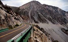 Tioga Pass through Yosemite - the highest highway in California