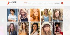 Casting - Modeling & Talent Agency WordPress Theme by kayapati Have a look at Our Latest Updated Model Agency Theme  Casting is a Responsive Fashion Model Agency Wordpresscan be used for any