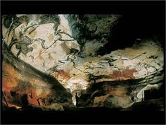 Lascaux (Lascaux Caves) is the setting of a complex of caves in southwestern France famous for its Paleolithic cave paintings. The original caves are located near the village of Montignac, in the department of Dordogne. They contain some of the best-known Upper Paleolithic art. These paintings ar...