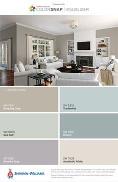 Relaxing Paint Colors for Living Room - Relaxing Paint Colors for Living Room, the Most soothing Bedroom Paint Colors Great Guide Paint Colors For Living Room, Paint Colors For Home, Bedroom Colors, Paint Colours, Livingroom Paint Ideas, Indoor Paint Colors, Grey Colors, Wall Colors, Interior Paint Colors