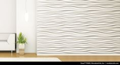 Dune wall panel/tile from ModularArts: thinking placement on the walls running length wise.