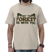 Mayo el bosque esté con usted t shirts por FamilyCares