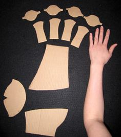 Paper clay armor tutorial