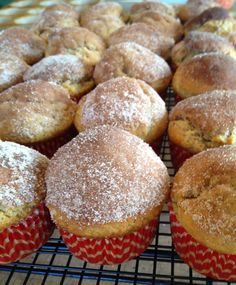 Donut Muffins are delicious and easy! Fun for a Valentine's Day or other occasion treat! Kids can help make them. Donut Muffins, Donuts, Sweet Treats, Brunch, Baking, Breakfast, Breads, Easy, Recipes