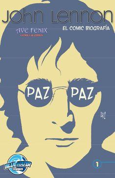 John Lennon comic book in Spanish cover.