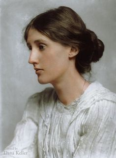 Virginia Woolf in color.Virginia Woolf, British author, A novelist, essayist and critic, Virginia Woolf (nee Stephen) was a leading figure in London literary circles and was a member of the Bloomsbury group. Modernist Literature, Classic Literature, British Literature, English Literature, British Library, British History, American History, Native American, Monólogo Interior