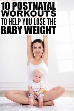 Trying to find the time to squeeze in some exercise after having a baby isn't easy, but thanks to this collection of postnatal workouts to teach you how to lose the baby weight, it's not impossible. You can do these at home workouts from the comfort of your living room while your little one is napping or spending time with grandma, and for those days when your bundle of joy won't allow you 5 minutes to yourself, there are some exercises you can do WITH him!