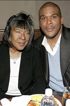 Tyler Perry and his mom