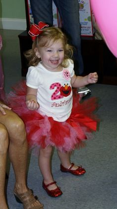Elmo Dress/Tutu for Girls Elmo Party  ....def wanna get this for my girls 2nd bday party!