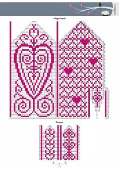 . Knitting Socks, Knitting Needles, Diagram Chart, Fair Isles, Hama Beads, Diy Tutorial, Crochet Hooks, Cross Stitch, Kids Rugs
