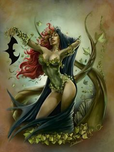 Poison Ivy by Cris Delara City Sirens
