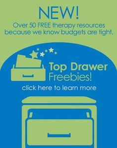 Top Drawer Freebies - SWEET!!