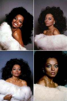 Diana Ross of all her daughters Rhonda looks more like her. Divas, Vintage Black Glamour, Vintage Beauty, Vintage Makeup, Vintage Fashion, My Black Is Beautiful, Beautiful People, Dona Summer, Diana Ross Style